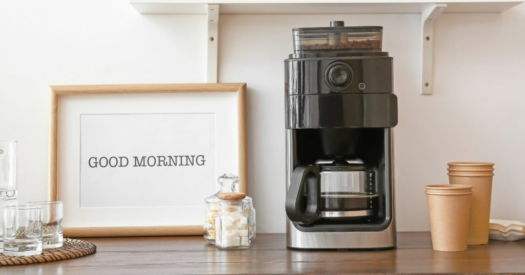 an image of the best home coffee machine