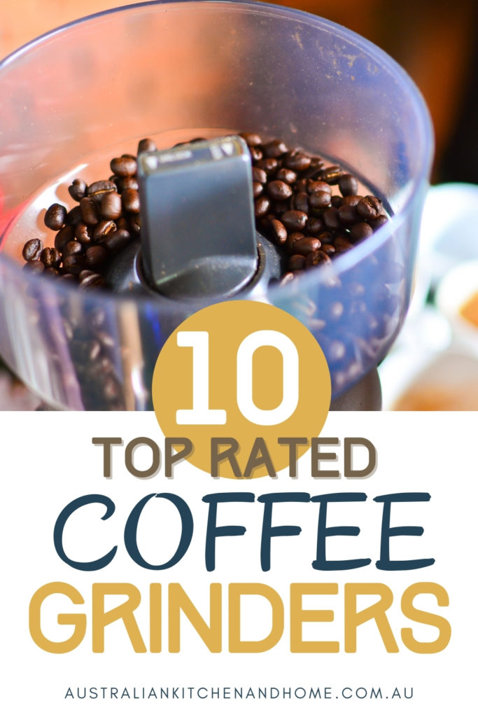 pin image for best coffee grinder Australia article